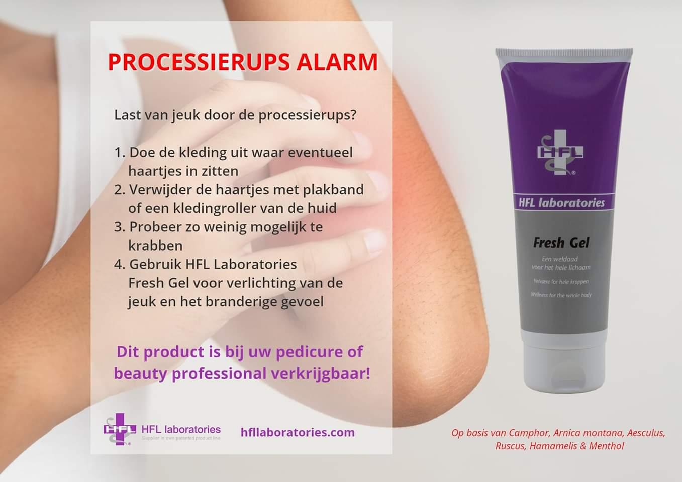 Processierups Alarm