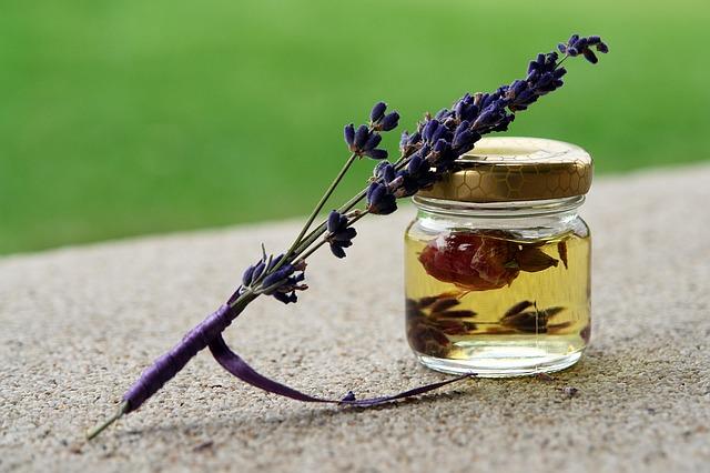 De overgang en de effectieve werking van lavendelolie